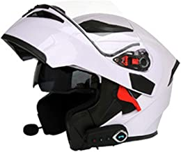 NF Bluetooth Integrado en el Casco de la Motocicleta Modular Estándar de Seguridad - Full Face Racing Motorcycle Helmet,A,XL