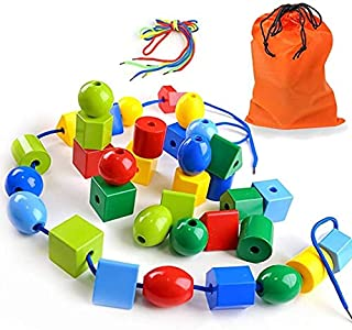 beads and thread for toddlers