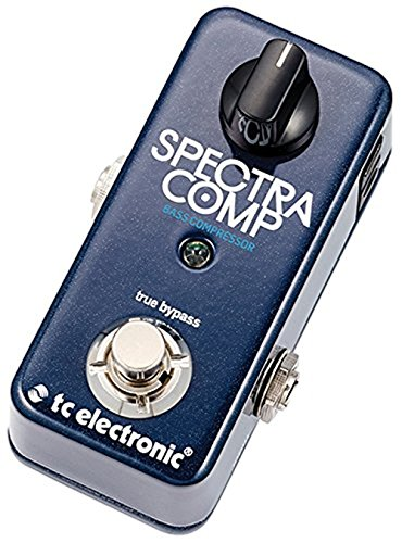 TC Electronic SpectraComp Bass Compressor Pedal + (2) Instrument Cables + (2) Patch Cables + K&M Cloth