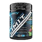 Pump it to the Limit 2.0 - Pre-Entrenamiento sin Cafeína y Estimulantes - Citrulina + AAKG + Taurina + L-Ornitina + Extracto de Remolacha - 510 g Polvo - Sabor Triple Cerez