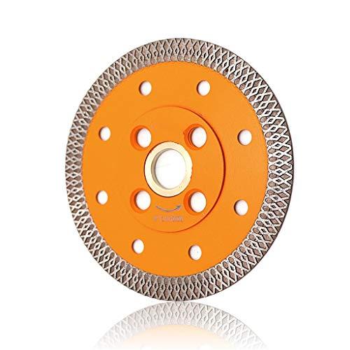 JP Dia 4'/ 4.5' / 5'Diamante De Corte Sinterizado X Malla Turbo Sirva Hoja De Sierra, 105 Mm 115 Mm 125 Mm Hoja De Sierra Circular para Mármol Y Corte De Granito 1pcs (Size : 1pc 105MM)