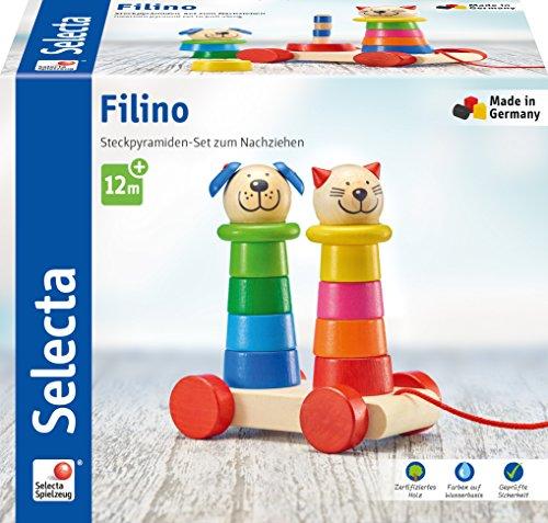 Selecta - Nachziehspielzeug in Bunt, Größe 15 cm