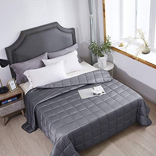 """HomeSmart Weighted Blanket King Size 20lbs 88x104"""" (Tip: Any Blanket Smaller Than 88x104"""" is Too Small to Cover a King Bed) 