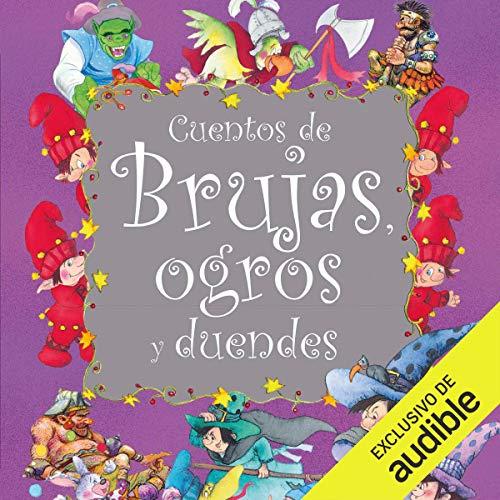 Diseño de la portada del título Cuentos de brujas, ogros y duendes