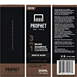 PREMIUM 3-in-1 Beard Shampoo with Conditioner & Facial Hair Protection Treatment For Men ! Gentle Wash Leaves Your… 7