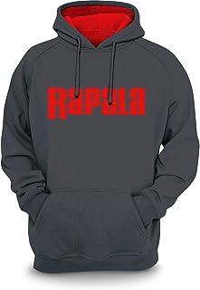 Rapala Sweatshirt Grey Red Hood 3XL