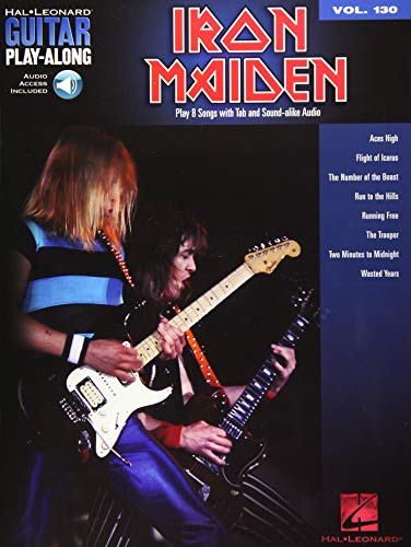 Guitar Play-Along Volume 130: Iron Maiden (Book/Online Audio)