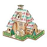 Generies Slyvdark Rompecabezas Tridimensional 3D, Rompecabezas De Bricolaje, Cartón Modelo Arquitectónico De Fama Mundial, Juguetes Modelo Ensamblados para Niños Y Adultos (el Mago De Oz)