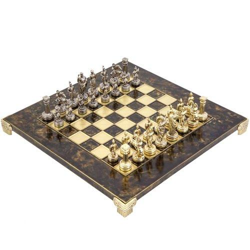 Griechisch Roman Armee Metall Schachspiel