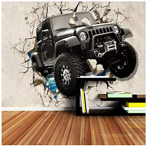 Muurbehang 3D cool gereedschap auto hit wand vlies PVC slaapkamer woonkamer jongen kamer HD kunst achtergrond wanddecoratie 450(w) x300(H) cm