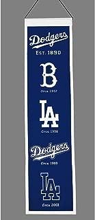Winning Streak MLB Sports Team Los Angeles Dodgers Heritage Banner