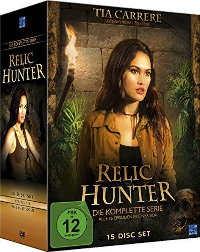 Relic Hunter Gesamtbox (Staffel 1-3 im 15 Disc Set)