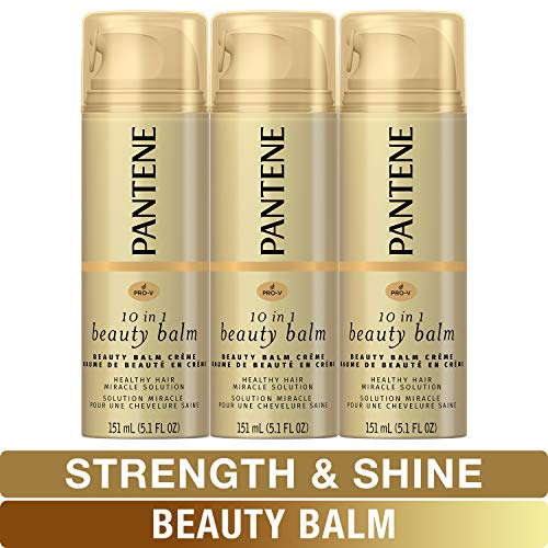 Price comparison product image Pantene,  Beauty Balm,  Softness,  Strength and Shines,  Pro-V ,  5.1 Fl Oz (Pack of 3)