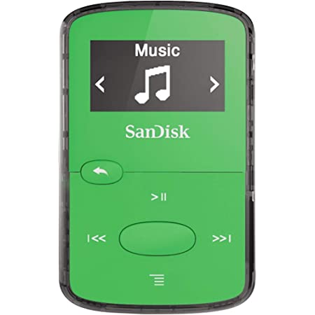 Sandisk Clip Jam 8gb Mp3 Player Grün Audio Hifi