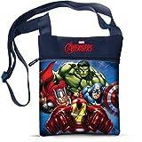 Star Marvel Avengers - Bolso y bolso de mano impreso en el hombro cuadrado (16,5 x 21 cm)