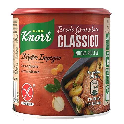 6x Knorr brodo granulare classico granulierte Brühe klassisch 150 gr