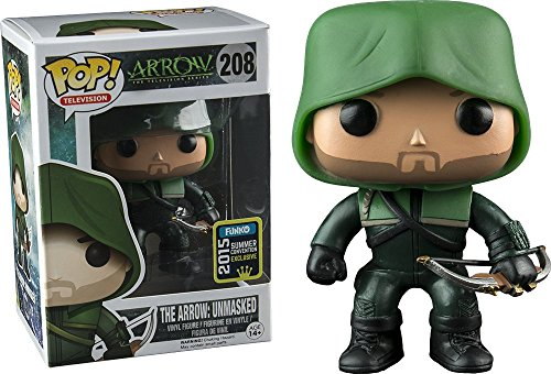 Funko - Pop Collection - Arrow - The Arrow Unmasked SDCC 2015 - 0849803053475