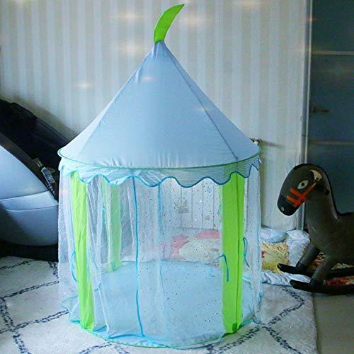 MCLJR Kinderzelt, tragbares Kinderzelt, Wigwam Prinzessin Zelt, Chunya Textil-Material, sicher und atmungsaktiv, geeignet für Kinder,E