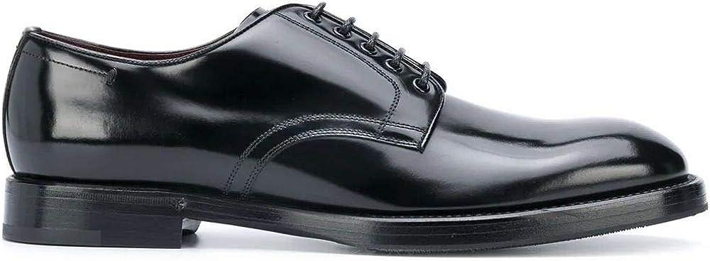 Dolce & gabbana luxury fashion scarpe stringate in vera pelle A10610A120380999