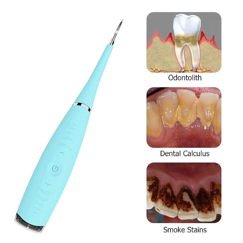 宿泊不注意調和のとれた電気歯科微積分除去スクレーパープラーク歯石歯石除去歯のクリーニングツール、Uspによって供給Ipx6防水水フロス歯のクリーナー,Blue