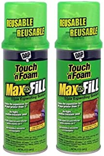 Touch 'n Foam 4001031212 MaxFill Maximum Expanding Sealant (2, 12oz.)