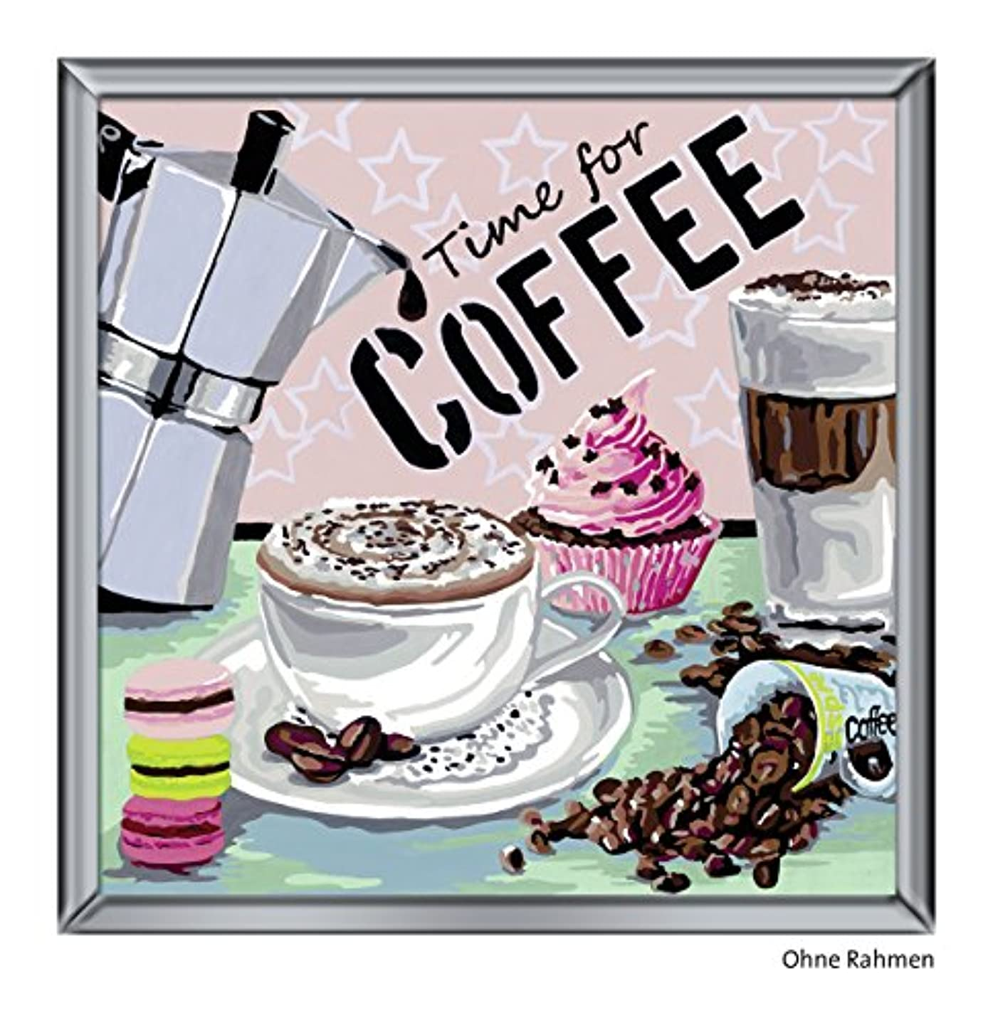 Ravensburger 29013 0 Paint by Numbers Coffee sfhloeipcstr