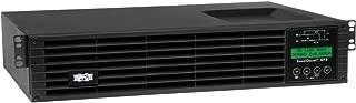 Tripp Lite 1000VA Smart Online UPS Back Up, 900W Double-Conversion, Extended Run Option, 2U Rackmount, LCD, USB, DB9 (SU1000RTXLCD2U)