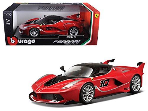 Maisto Ferrari FXX-K #10 Red 1/18 Model Car by Bburago
