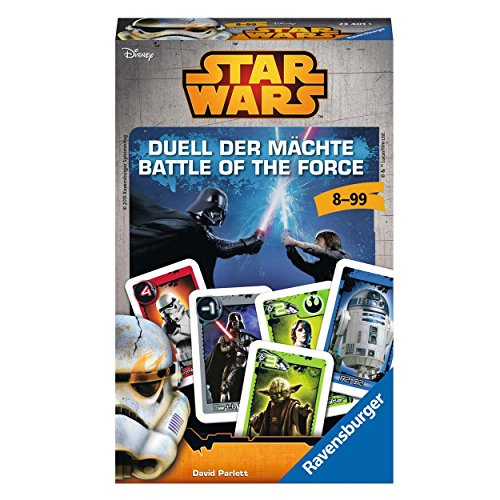 Ravensburger 23401 - Star Wars Brettspiele Duell der Mächte - Kinderspiel/ Reisespiel