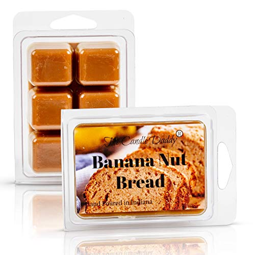 The Candle Daddy Banana Nut Bread Maximum Scented Wax Melts- 1 Pack- 2 oz- 6 Cubes
