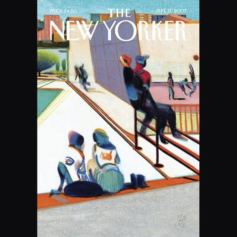 The New Yorker (September 17, 2007) audiobook cover art