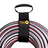 """Easy-Carry Wrap-It Storage Straps - 28"""" (2-Pack) – Heavy-Duty Hook and Loop Cord Carrying Strap, Hanger, and Organizer with Handle for Pool Hoses, Garden Hoses, Cords, Cables and More"""