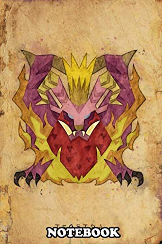 Notebook: Teostra Notes Poster Monster Hunter World , Journal for Writing, College Ruled Size 6' x 9', 110 Pages