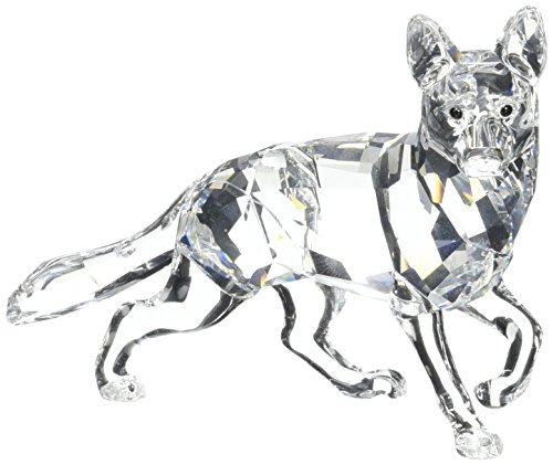 German Shepherd SWAROVSKI Crystal Figurine