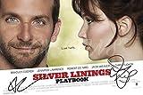 SILVER Linings Playbook unterzeichnet Foto