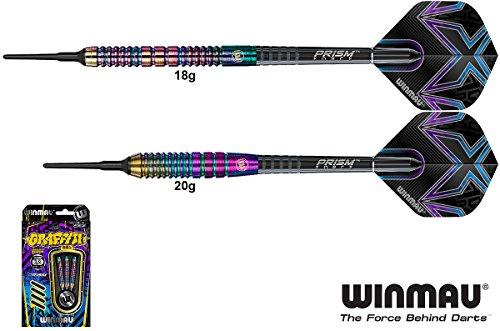 WINMAU Graffiti Darts 85% Tungsten Softdarts 18g
