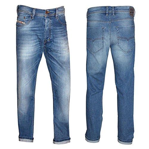 Diesel Herren Jeans Slim Leg Tepphar, Farbe: Blau, Größe: 33/32