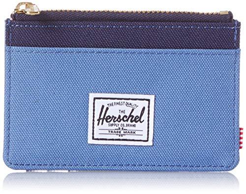Herschel Oscar RFID Portafogli per Carte, Flussside/Peacoat, Taglia unica Uomo