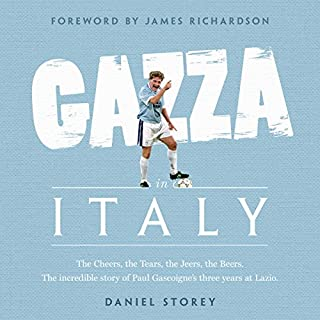 Gazza in Italy cover art