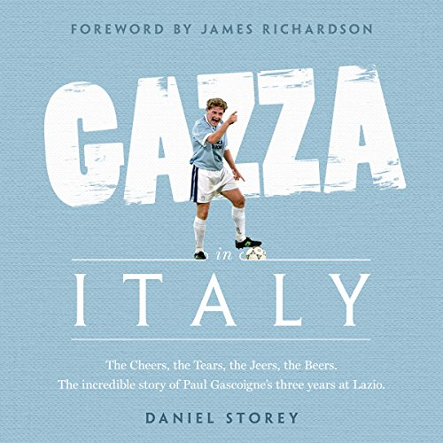 Gazza in Italy audiobook cover art