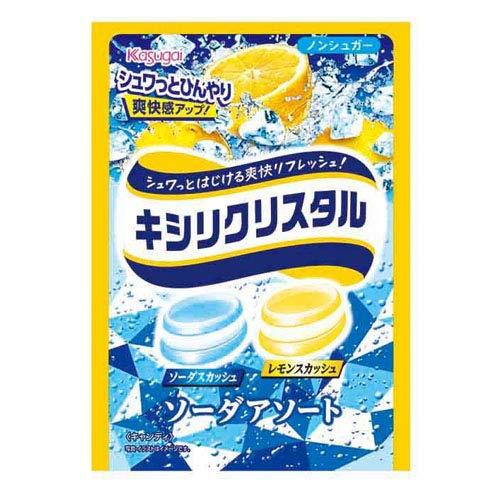 春日井製菓 キシリクリスタル ソーダアソート 67g(個装紙込み) 72コ入り