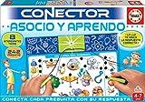 Educa- Asocio y Aprendo Juego Connector para Niños, Multicolor (17202)