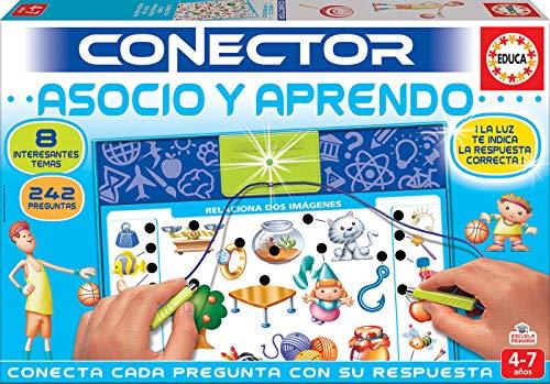 Educa - Asocio y Aprendo Juego Connector para Niños, Multicolor (17202)
