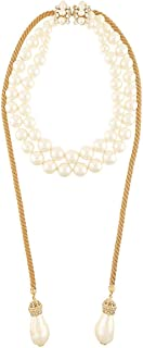 Luxury Fashion | Dolce E Gabbana Womens WNL8P1W1111ZOO00 Gold Necklace | Fall Winter 19
