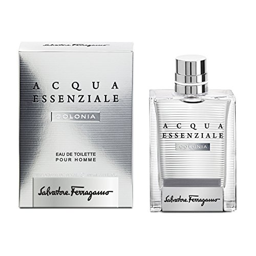 Salvatore Ferragamo Acqua Essenziale Colonia Spray for Men, 3.4 Fluid Ounce