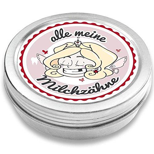 FANS & Friends Milchzahndose Mädchen & Jungen, Zahnfee, Gratis e-Book, Zahnfee Dose Mädchen, Dose für Milchzähne, Zahndose Milchzähne Mädchen