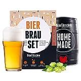 BrauFässchen | Geschenk für Männer | Bierbrauset zum selber Brauen | IPA im 5L Fass | In 1 Woche gebraut | Mach dein eigenes Craft Beer mit BrauFässchen -
