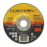 3M Cubitron II Schruppscheibe 2. Generation – Schleifmittel mit Präzisionskorn – 125 mm Schleifscheibe mit 36+ Körnung für Winkelschleifer – 10 Stück