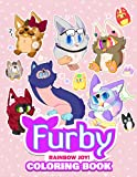Rainbow Joy! - Furby Coloring Book: Cuties coloring for kids - Boost Creativity