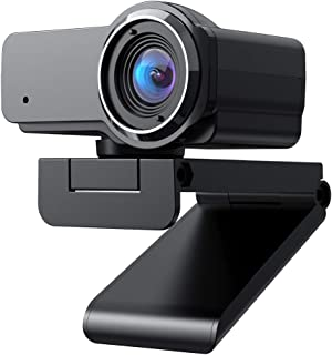 (Fulfilled by Amazon) 1080P FHD Webcam with Sony Sensor, Noise Reduction Microphone, PC Laptop Desktop USB Webcams, Streaming Computer Camera for Video Calling, Conferencing, Gaming (1080P.)
